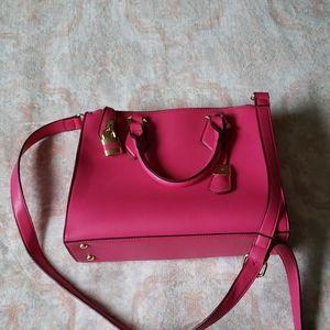 Charming Charlie pink handbag